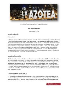 La Azotea - Gui para el Encuentro
