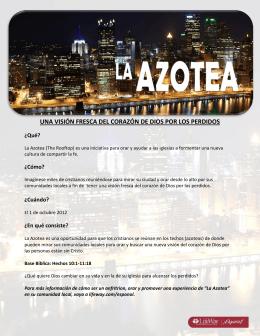 La Azotea - cartel
