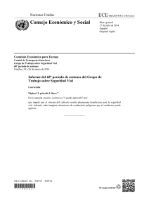 APPLICATION, ECE/TRANS/WP.1/145/Corr.1 (Spanish), ECE-TRANS-WP1-145c1s.pdf, 85 KB