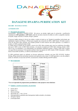 DANAGENE DNA/RNA PURIFICATION  KIT