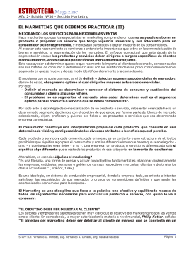 El Marketing que Debemos Practicar (II).pdf