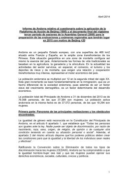 APPLICATION, Andorra Informe Po A Beijing 2014 Spanish, Andorra_Informe_PoA_Beijing_2014_Spanish.pdf, 171 KB