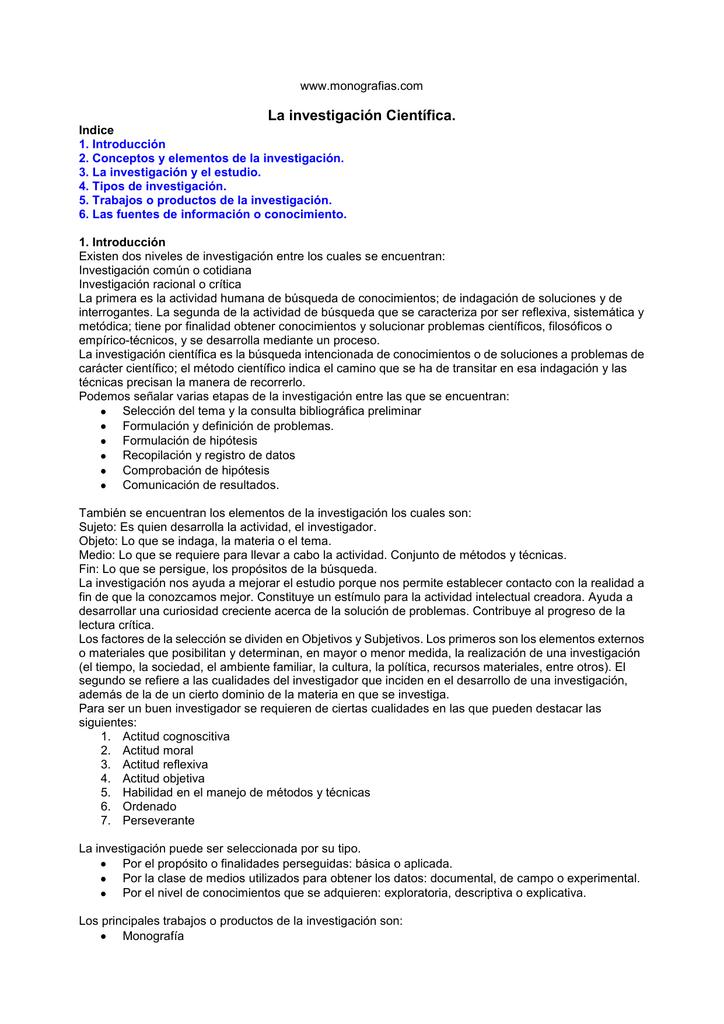 La Investigacion Cientfica - Actitud Indagadora.pdf