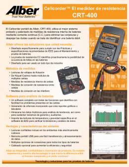 Product Brochure (Spanish)