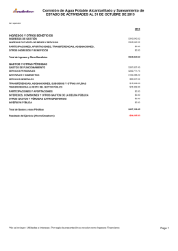 Comisión de Agua Potable Alcantarillado y Saneamiento de