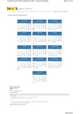Acceso al calendario en PDF