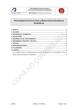 PAC06. RESOLUCI N DE INCIDENCIAS ACAD MICAS.