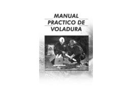 Manual Practico de voladuras