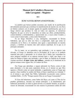 Manual del Caballero Rosa Cruz 13