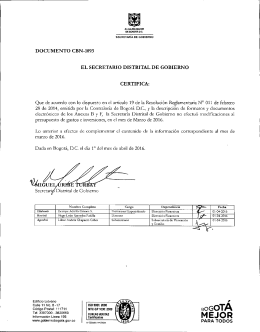 DOCUMENTO CBN-1093 MARZO 2016