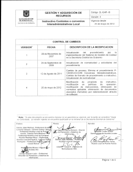 2L-GAR-I8 - Instructivo contratos o convenios interadministrativos local