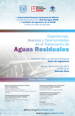cartel aguasresiduales