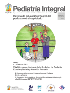 Pediatría Integral XVI Especial 15