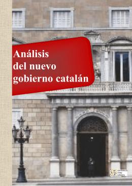 'Análisis del nuevo gobierno catalán' es un documento en pdf
