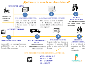 Accidente Laboral