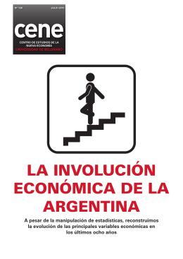 cene La invoLución económica de La argentina