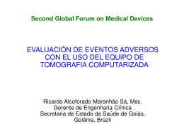 Assessment of adverse events related to the use of the computed tomography equipment pdf, 457kb