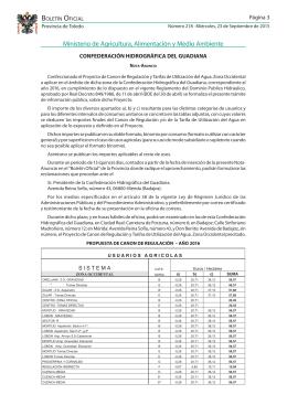 B O Ministerio de Agricultura, Alimentación y Medio Ambiente Página 3