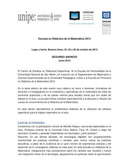 memorias congreso internacional didáctica de la matemática