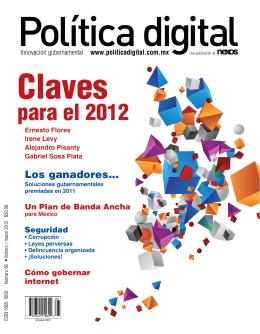 Política digital Claves  para el 2012