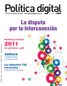 Política digital La disputa por la Interconexión 2011