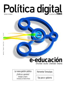 e-educación La nueva gestión pública Reinventar Tamaulipas Tips para e-gobierno