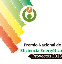 Eficiencia Energética Premio Nacional de Proyectos 2013