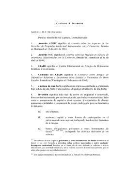 C 10 : I Acuerdo ADPIC AcuerdoMIC