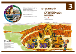 Manual de minería. Librillo 3.