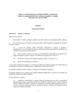 Sujeto a revisión legal para exactitud, claridad y consistencia