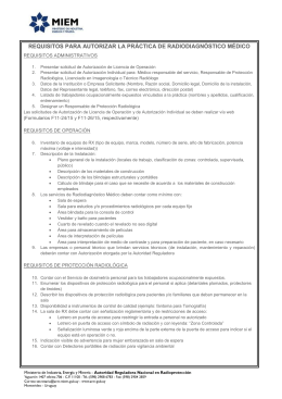 Requisitos RX Médico