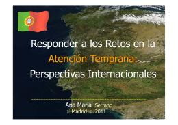 Responder a los retos en Atención Temprana: Perspectivas internacionales