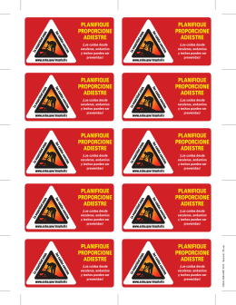 Fall Prevention Wallet Cards - Spanish