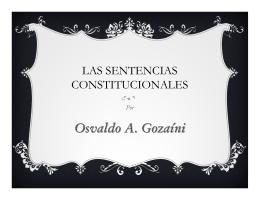 Teoria de la sentencia constitucional