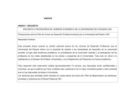 ANEXOS ANEXO 1. ENCUESTA