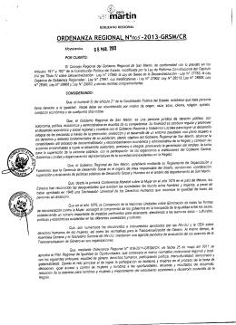 ):, maruln -20 I 3-GRSM/CR ORDENANZA  REGIONAL