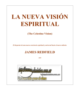LA NUEVA VISIÓN ESPIRITUAL JAMES REDFIELD