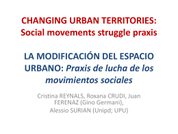 (Power Point) La modificación del espacio urbano - Praxis de lucha de los movimientos sociales.pdf [3,31 MB]