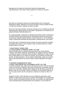 Documento final V Conferencia Episcopal Latinoamericana | 46 KB