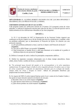 DESARROLLAR LAS PREGUNTAS DE LA MISMA. CIENCIAS DE LA TIERRA Y