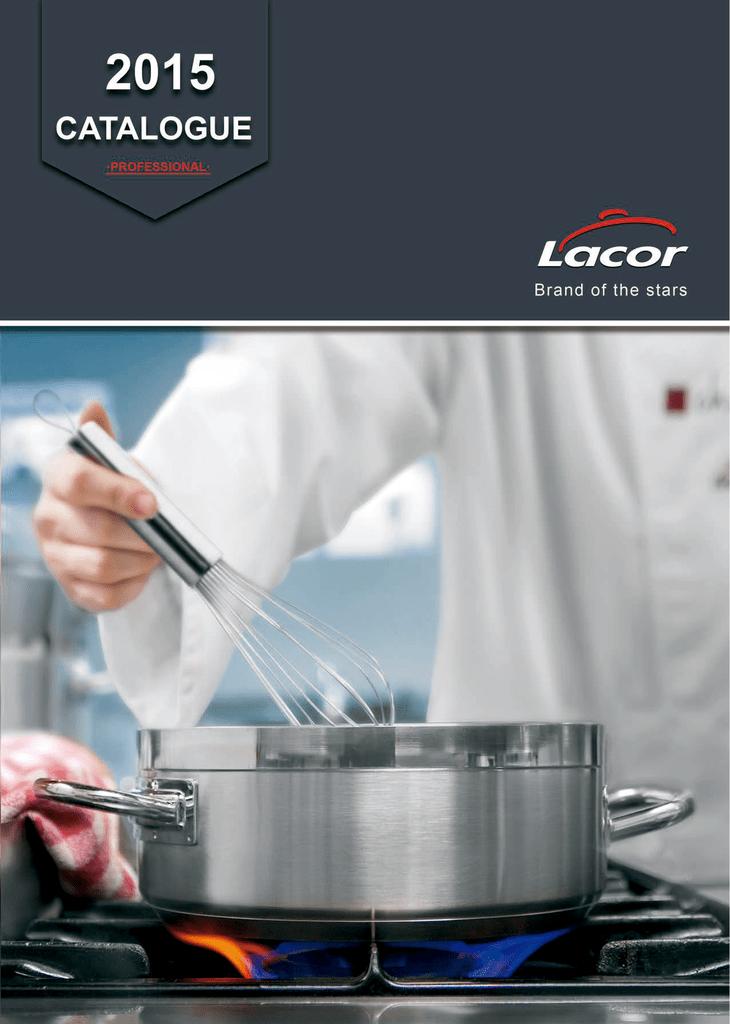 72831 Lacor Juego de Cocina 6 Piezas Giratorio Profesional  Inox.