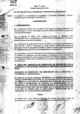 Ordenanza 114-03