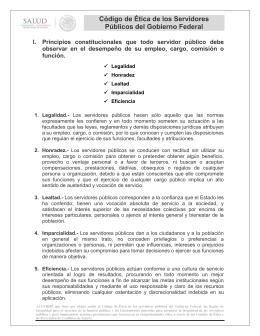 Codigo de Ética 2015