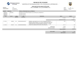 Ver Viáticos y subsistencias al exterior desde 01/11/2012 hasta 30/11/2012 - Publicado 05/12/2012