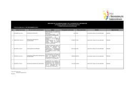 Ver I.1 Procesos precontractuales Agosto 2014 - Publicado 15/09/2014