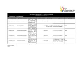 Ver I.1 Procesos precontractuales Noviembre 2014 - Publicado 15/12/2014