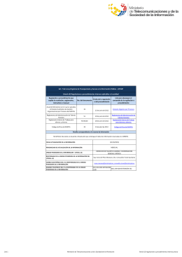 Ver literal a3) regulaciones y procedimientos internos,marzo
