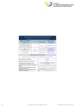 Ver literal a3) regulaciones y procedimientos internos, abril