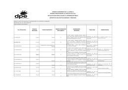 Ver Reporte de Cada Solicitud Ingresada y Tramitada MINTEL 2011