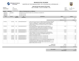 Ver Viáticos y subsistencias al exterior desde 01/10/2012 hasta 31/10/2012 - Publicado 05/11/2012